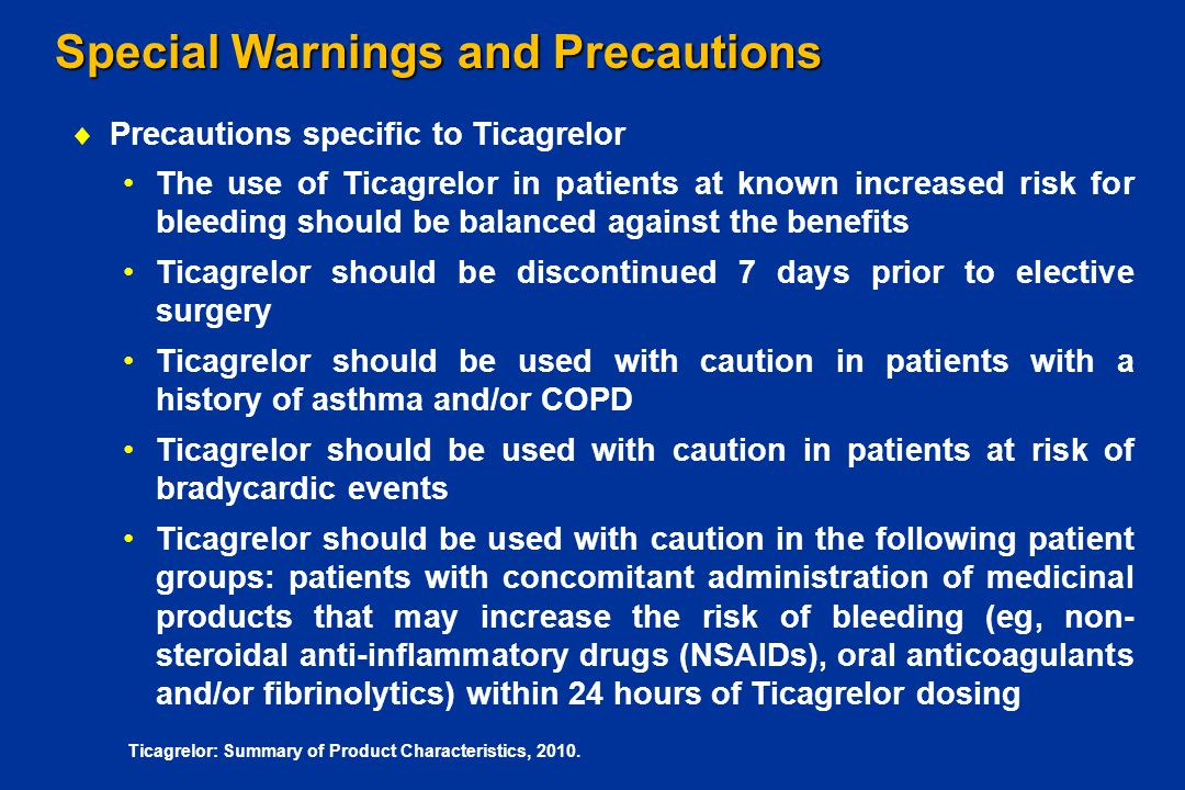 Special Warnings and Precautions