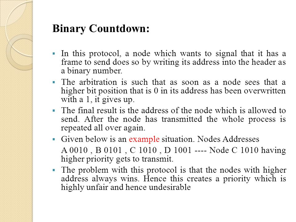Binary Countdown: