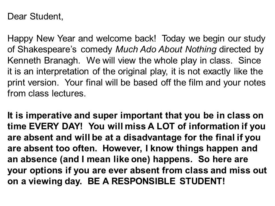Dear Student,