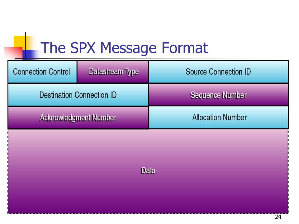 The SPX Message Format