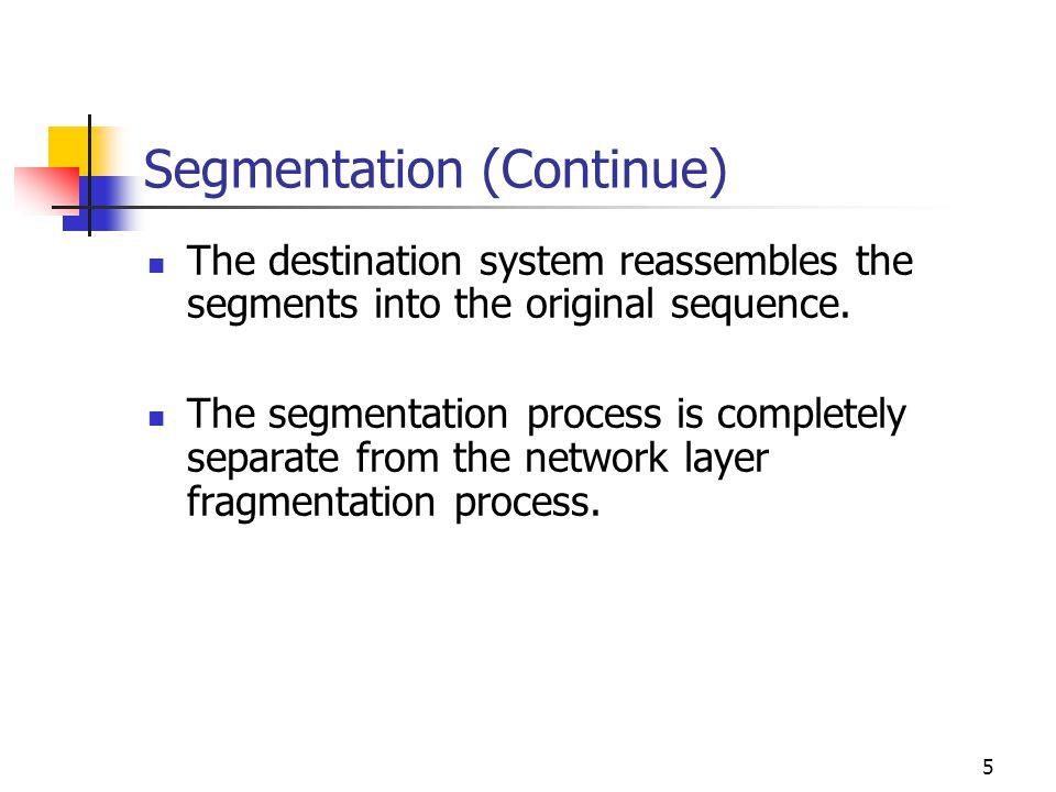 Segmentation (Continue)