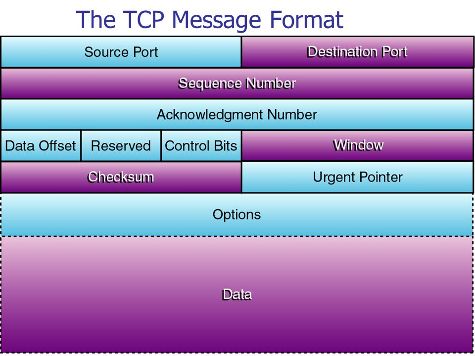 The TCP Message Format