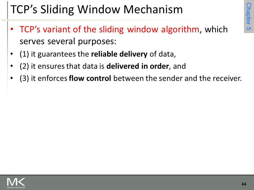 TCP's Sliding Window Mechanism