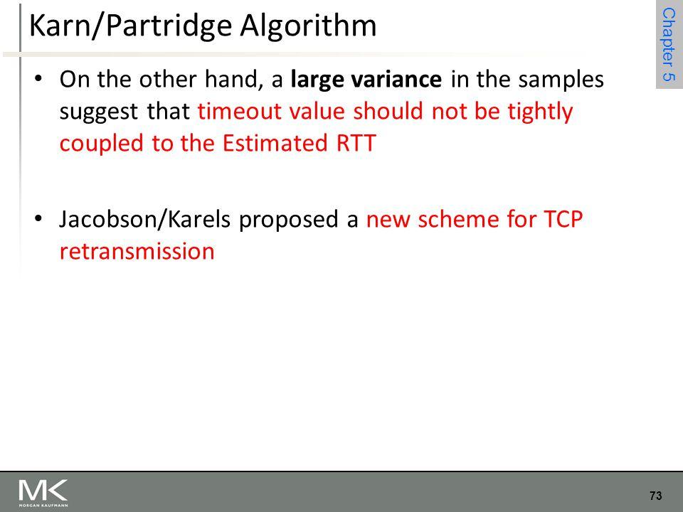 Karn/Partridge Algorithm