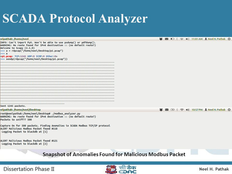 SCADA Protocol Analyzer