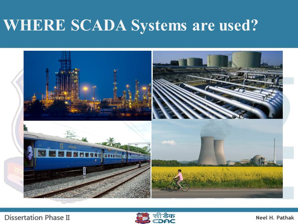 WHERE SCADA Systems are used