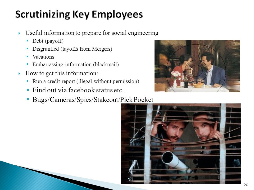 Scrutinizing Key Employees