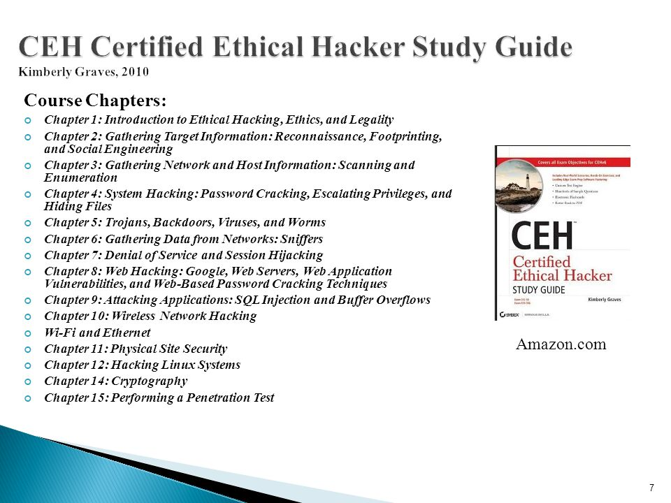 CEH Certified Ethical Hacker Study Guide Kimberly Graves, 2010