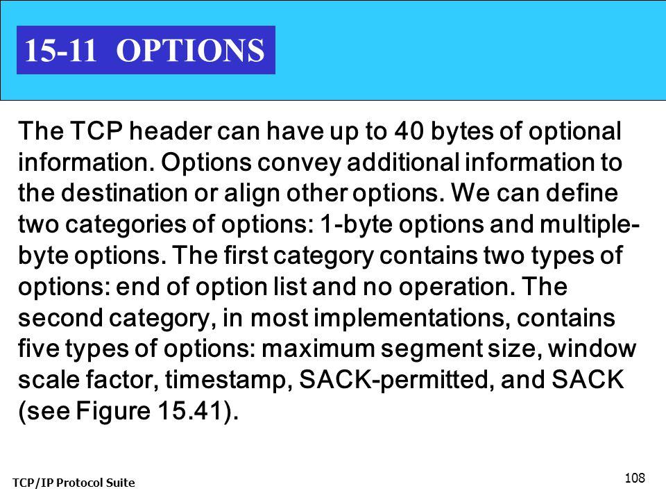 15-11 OPTIONS