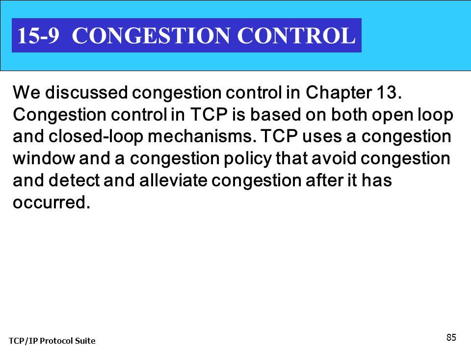 15-9 CONGESTION CONTROL