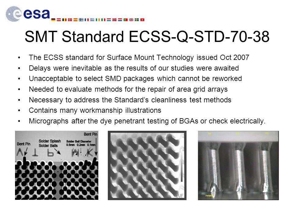 SMT Standard ECSS-Q-STD-70-38