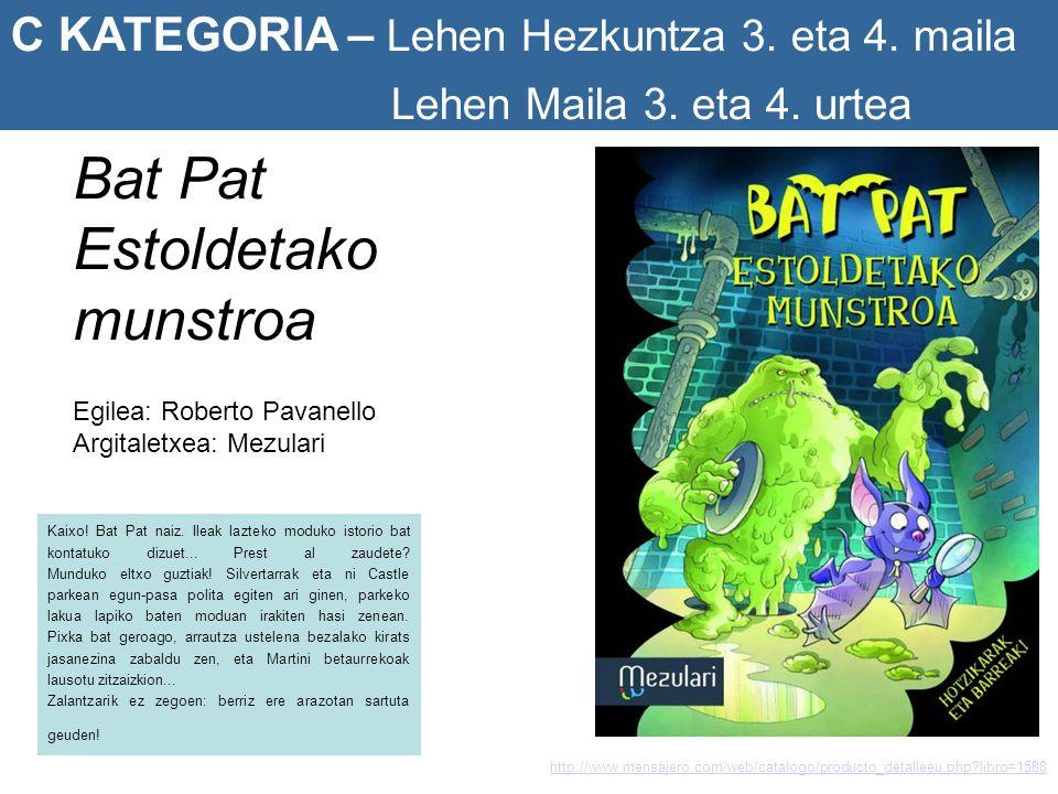Bat Pat Estoldetako munstroa