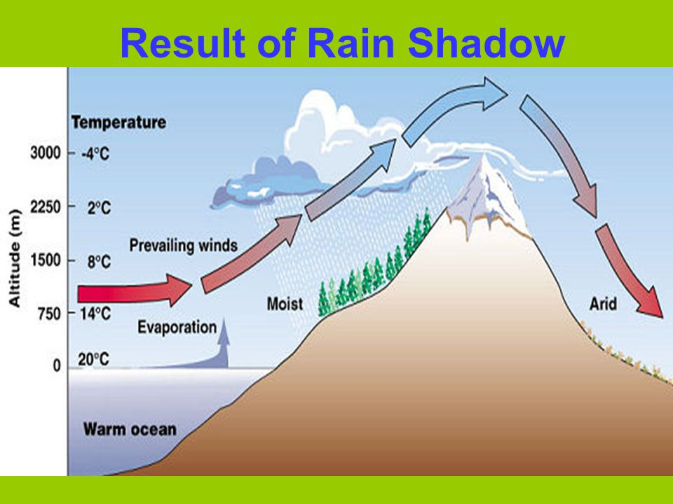 Result of Rain Shadow