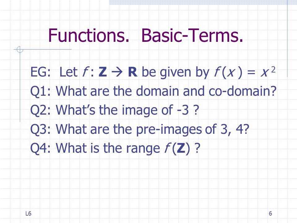 Functions. Basic-Terms.