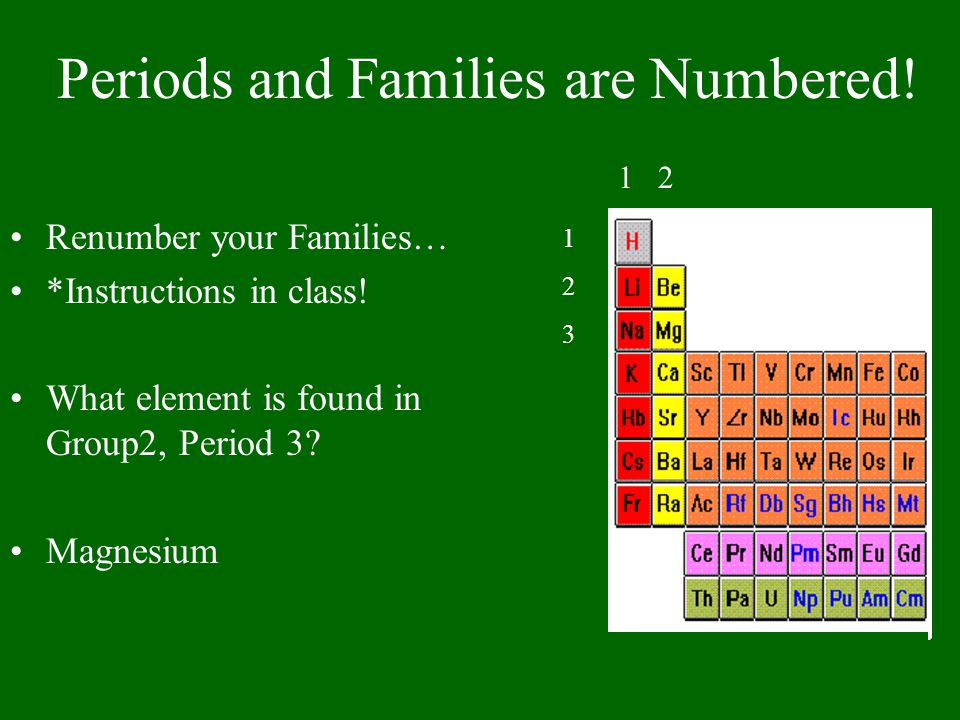Periods and Families are Numbered!