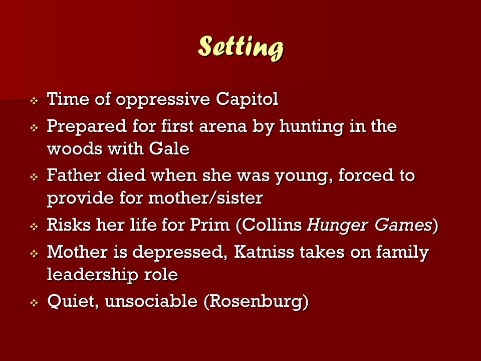 Setting Time of oppressive Capitol