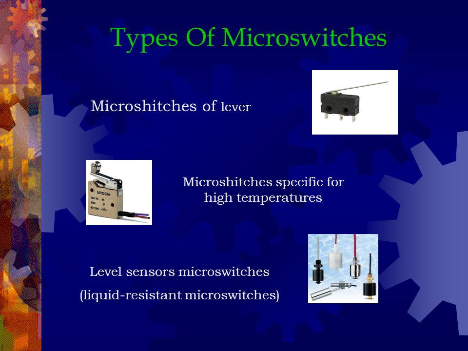 Types Of Microswitches