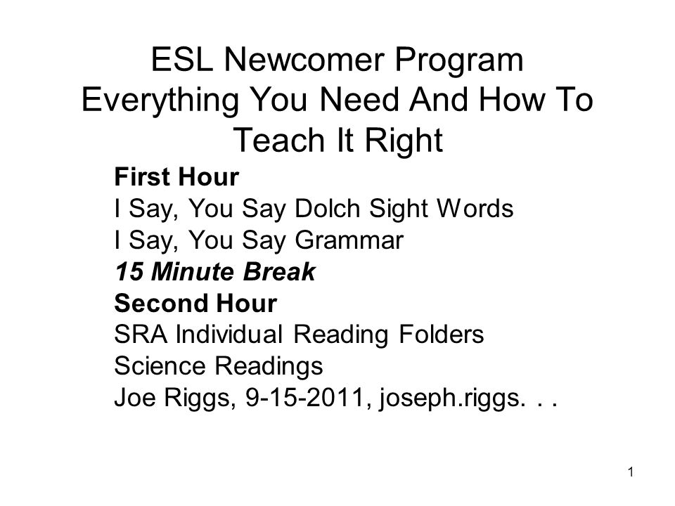 ESL Newcomer Program Everything You Need And How To Teach It Right