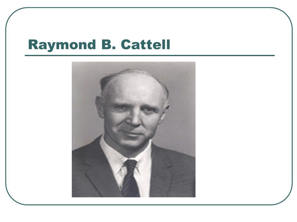 Raymond B. Cattell