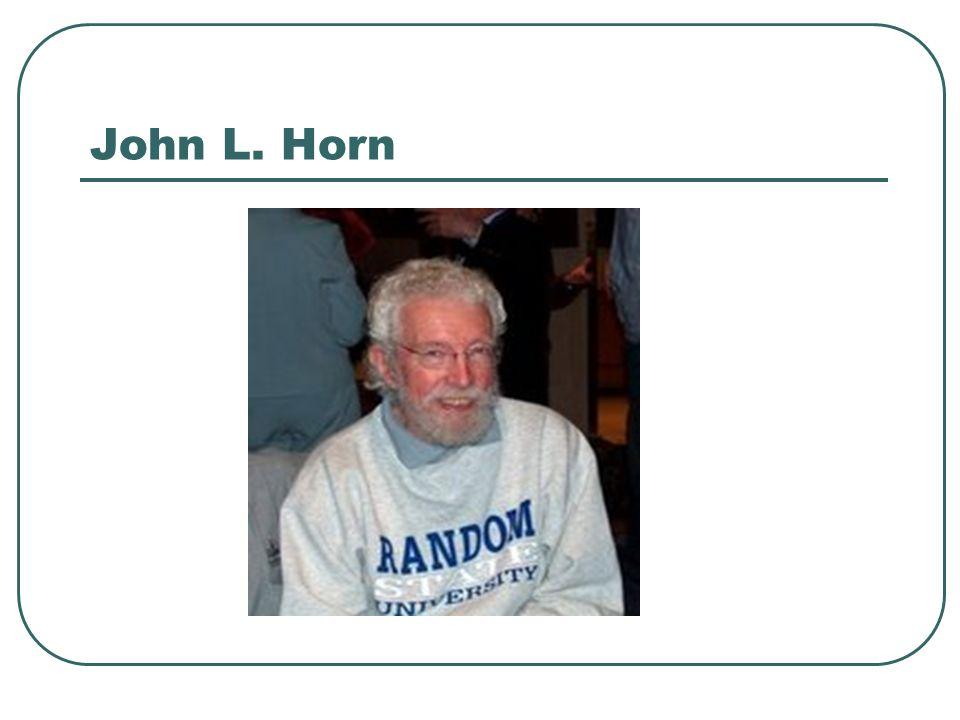 John L. Horn