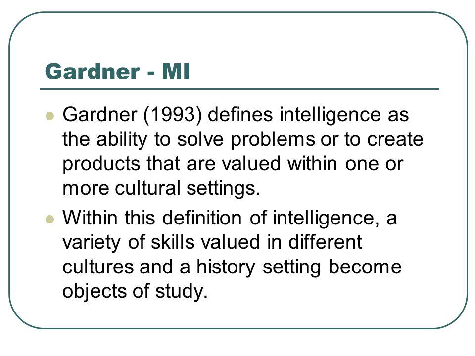 Gardner - MI