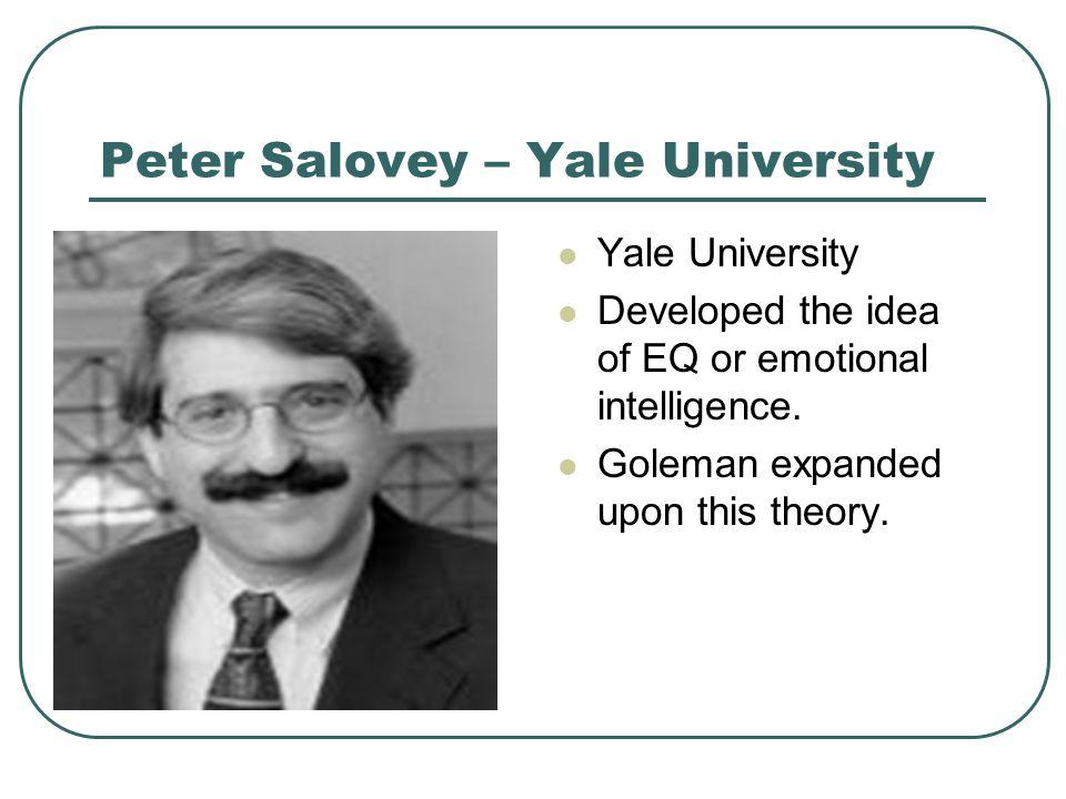 Peter Salovey – Yale University