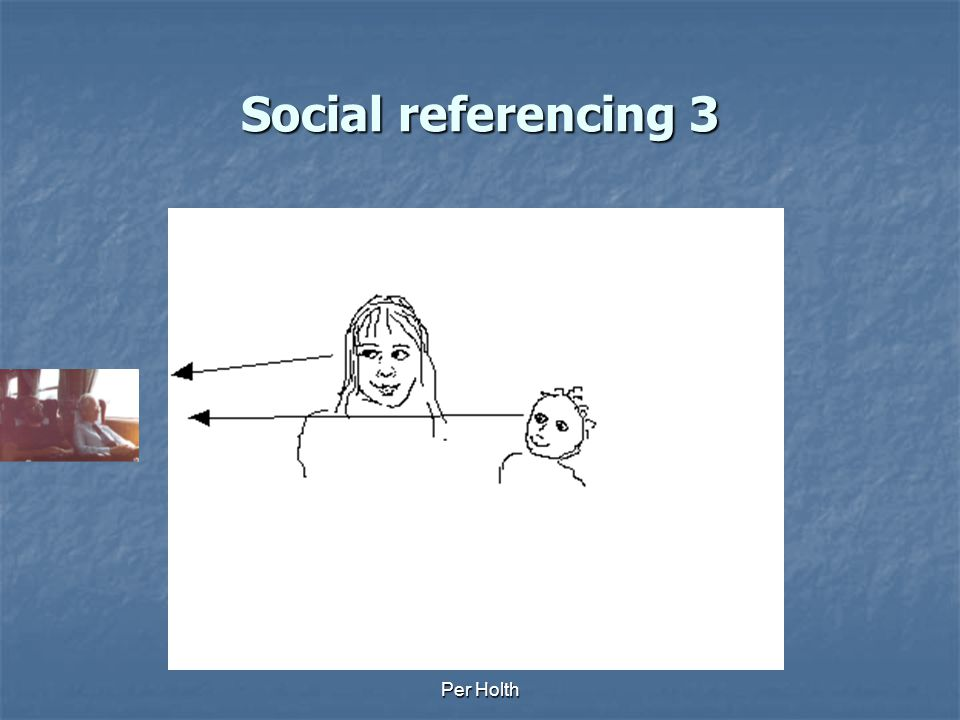 Social referencing 3 Per Holth