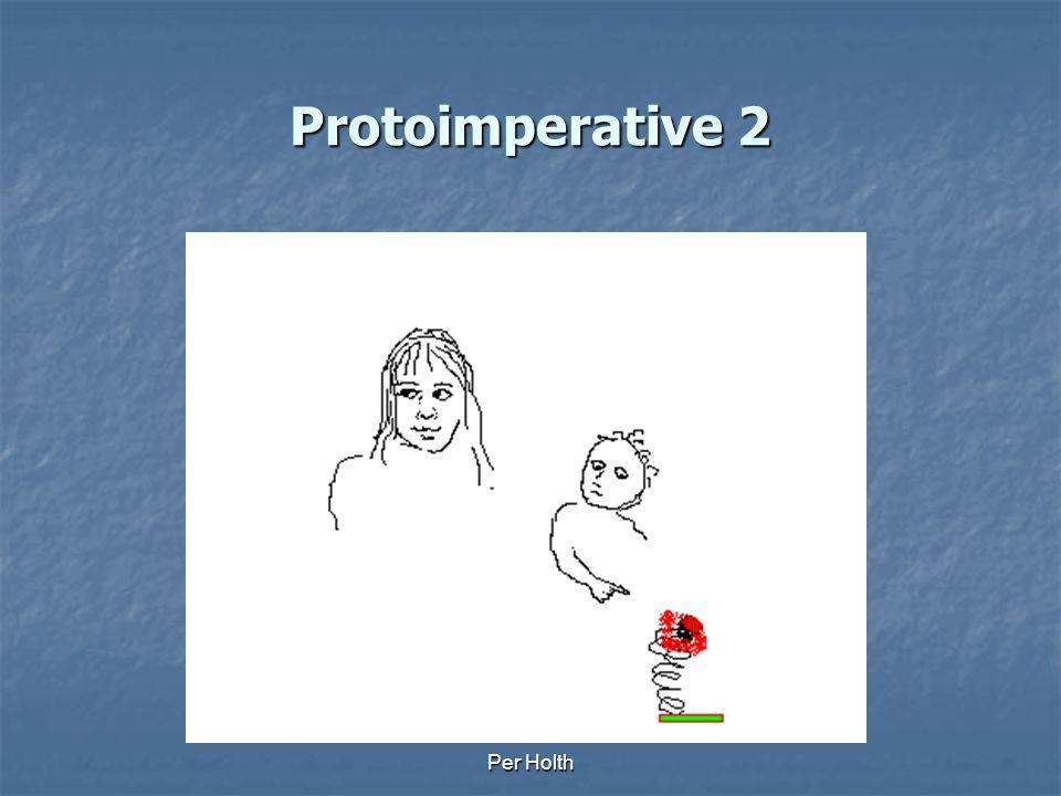 Protoimperative 2 Per Holth