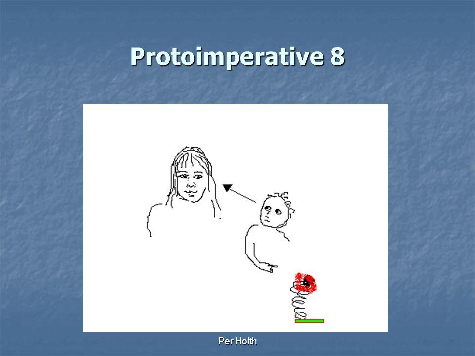 Protoimperative 8 Per Holth