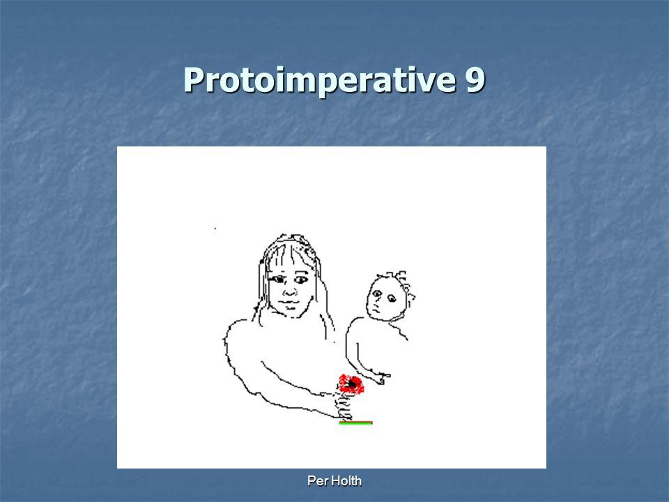Protoimperative 9 Per Holth