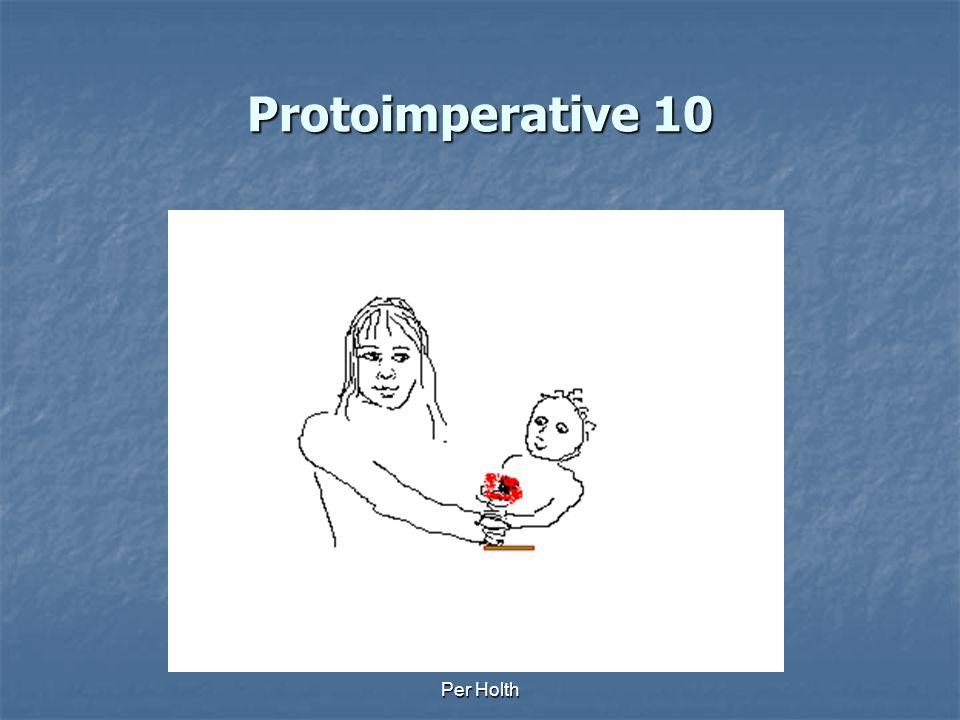 Protoimperative 10 Per Holth