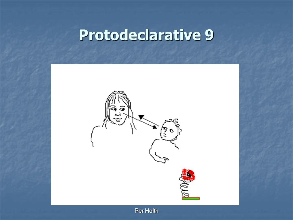 Protodeclarative 9 Per Holth