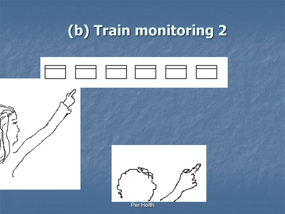 (b) Train monitoring 2 Per Holth