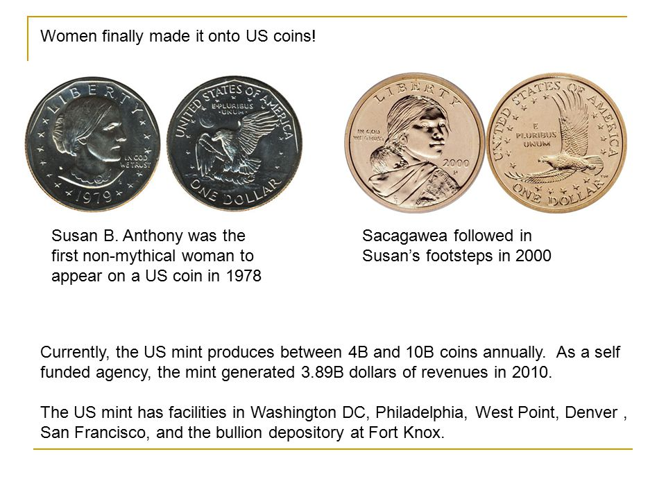 Women finally made it onto US coins!