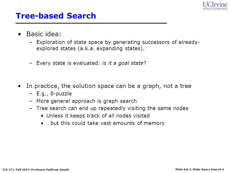 Tree-based Search Basic idea: