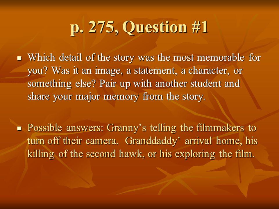 p. 275, Question #1