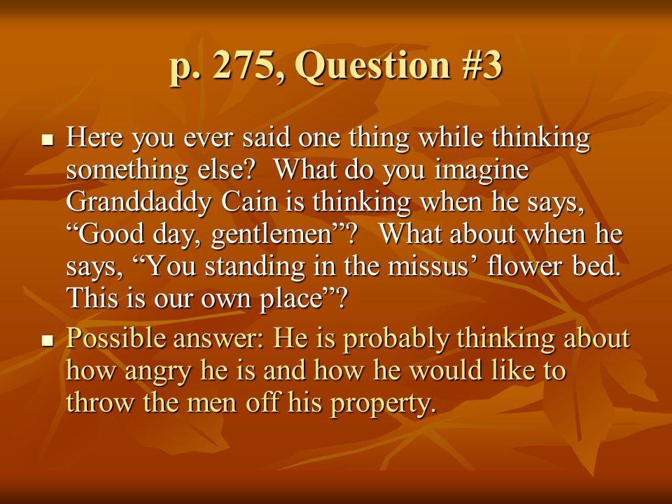 p. 275, Question #3
