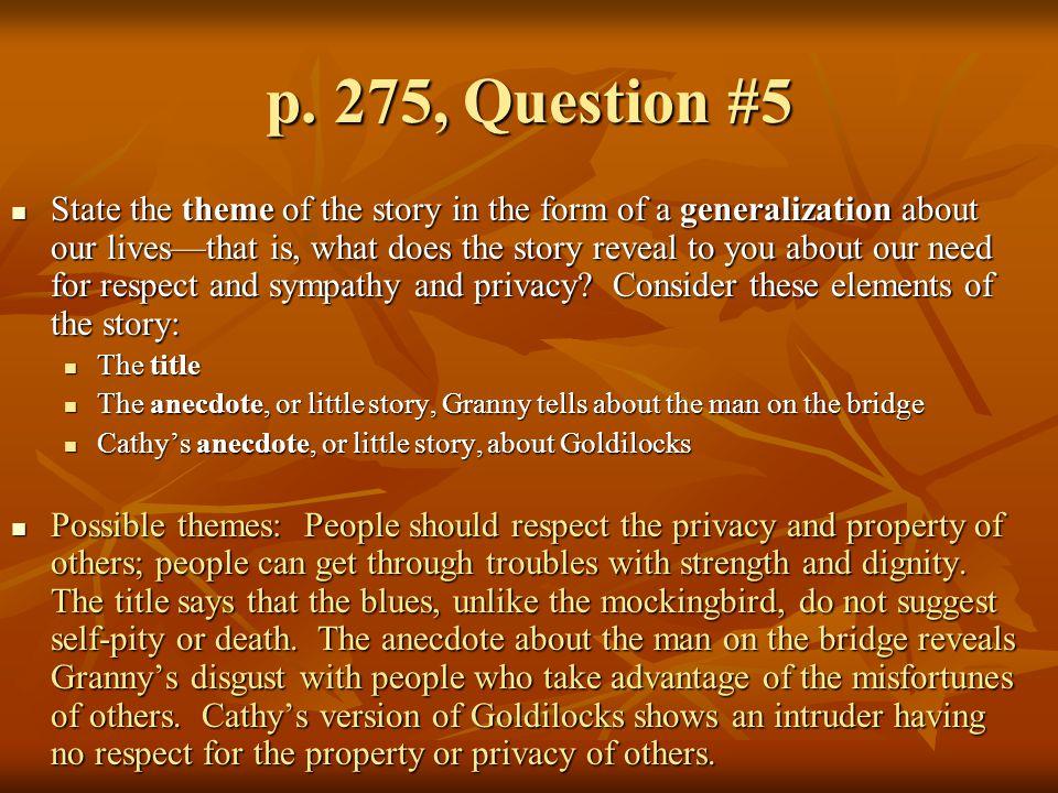 p. 275, Question #5
