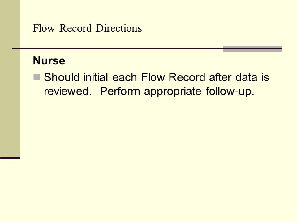 Flow Record Directions