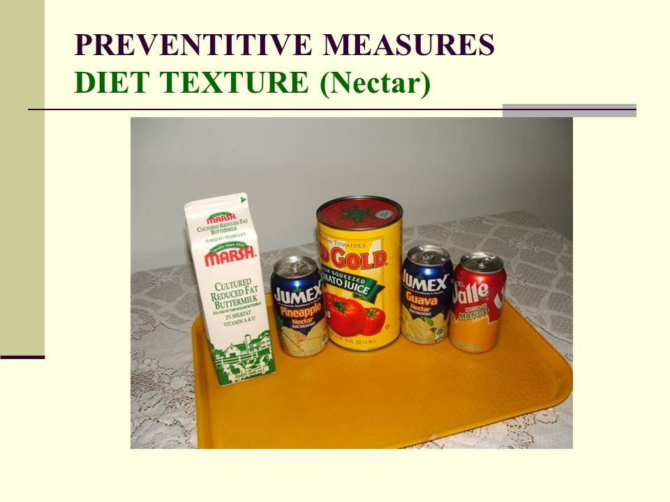 PREVENTITIVE MEASURES DIET TEXTURE (Nectar)