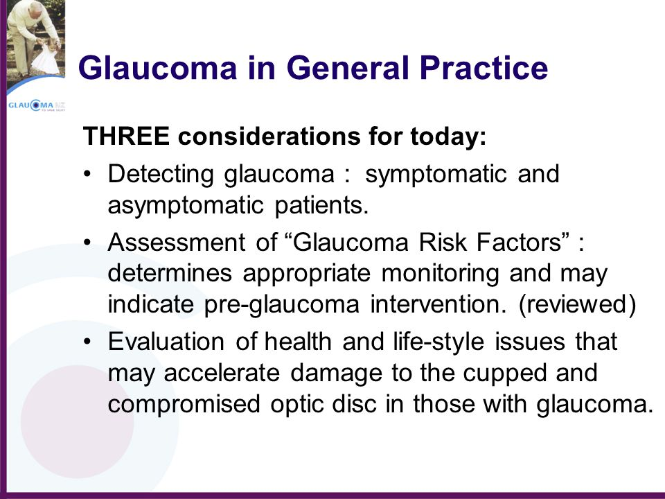 Glaucoma in General Practice