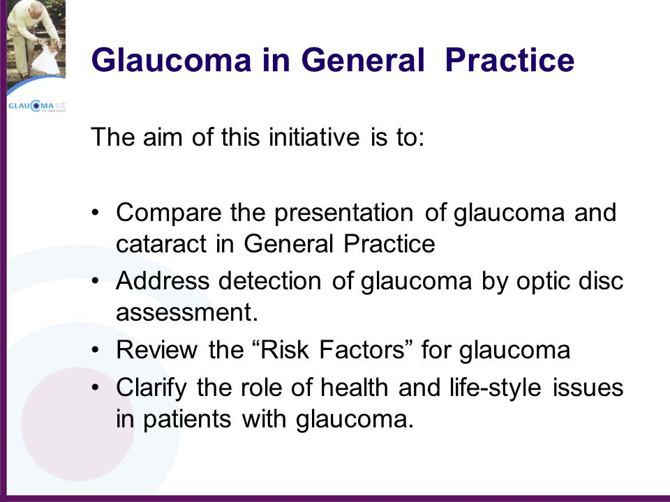 Glaucoma in General Practice