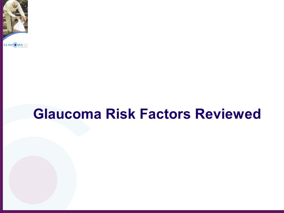Glaucoma Risk Factors Reviewed