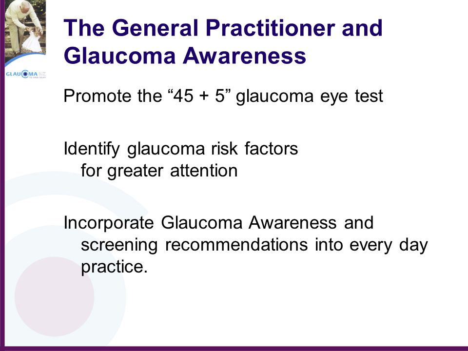 The General Practitioner and Glaucoma Awareness