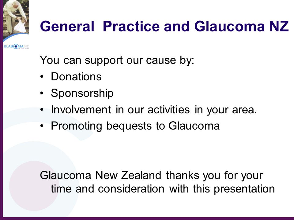 General Practice and Glaucoma NZ