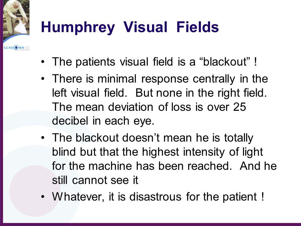 Humphrey Visual Fields