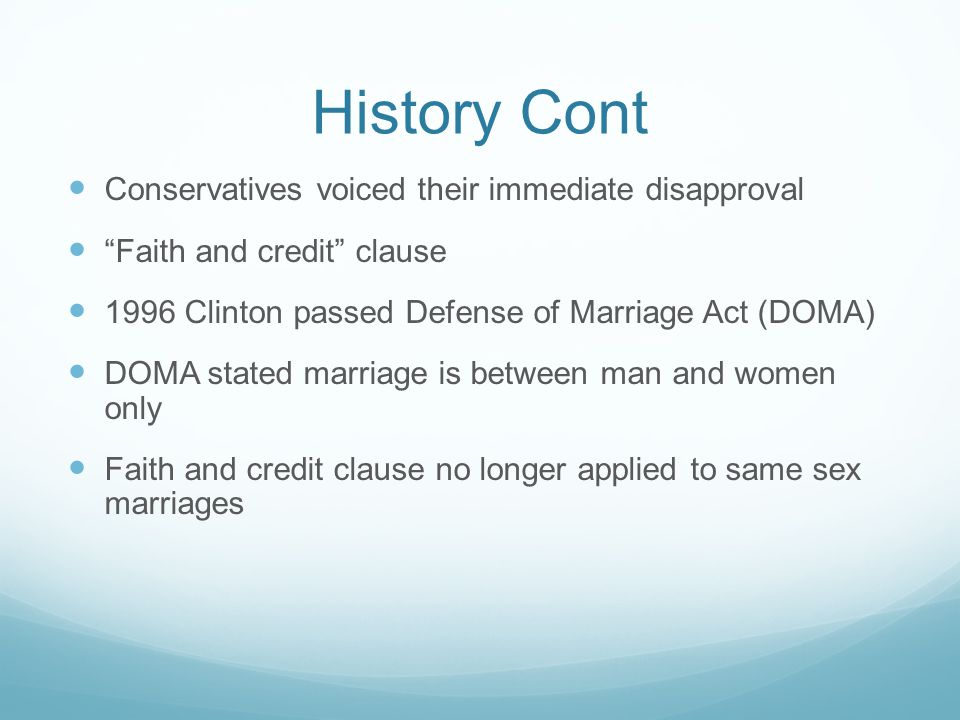 History Cont Conservatives voiced their immediate disapproval