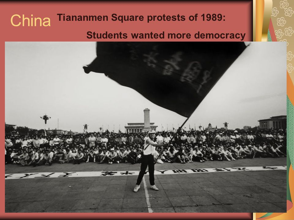 China Tiananmen Square protests of 1989: