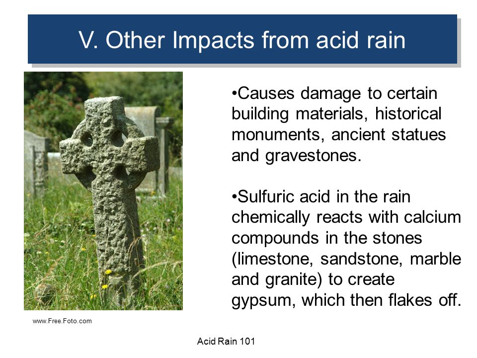 a definition and discussion of acid rain The nature of acid rain there are two types of acid rain contact between the acid gases and the wet precipitation or true acid rain on the other hand.