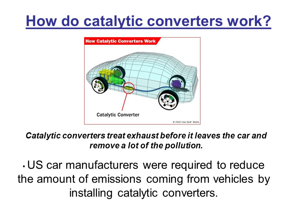 How do catalytic converters work